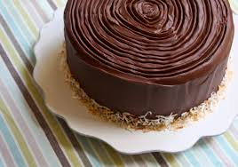 Decorated German Chocolate Cake German Chocolate Cake Inside Out Sass And Veracity