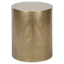 metal drum accent table large size of accent tablecellent gold drum accent table marvelous round gltop side