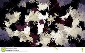 Abstract Bruin Wit Het Patroonbehang Van De Room Zwart Kleur Stock