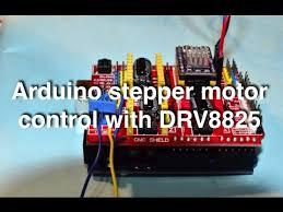 arduino stepper motor control with cnc