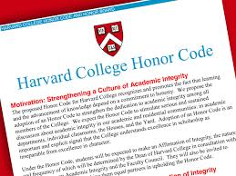 harvard college adopts honor code harvard magazine fas honor code