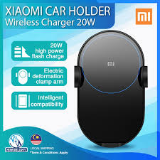 New <b>Xiaomi Wireless Car Charger</b> 20W Max Electric Mi Smartphone ...