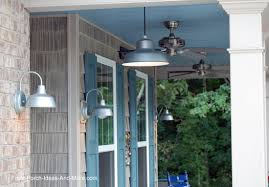 hanging porch lights. Barn Style Lights On Front Porch Hanging L