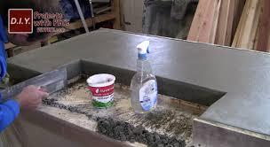 pour in place concrete counter tutorial