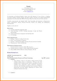 Business Analyst Sample Resume Fascinating Resume for Business Analyst Insurance Domain In Business 52