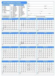 Free Attendance Sheet Pdf 2019 Attendance Sheet
