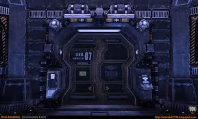 Sci Fi Corridor v1 Close Up 1 UDK by amirabd2130 on DeviantArt
