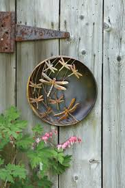 Dragonflies Wall Decor 17 Best Ideas About Outdoor Metal Wall Art On Pinterest Outdoor