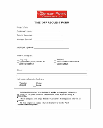 Days Off Request Form Template Staff Leave Form Template Time Employee Personal Leave Request Form