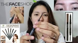 The Face Shop Designing Matte Eyebrow Pencil The Faceshop Designing Eyebrow Pencil Review Fhei Gesmundo