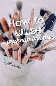 are you wondering how to properly clean makeup brushes at home the right way