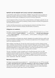 Separation Letter Example New Sample Cover Letter For A Daycare Job