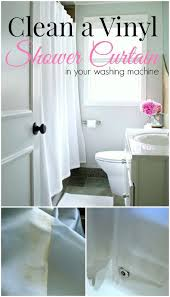 clean that dirty vinyl shower curtain quickly and easily