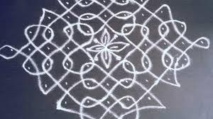Step By Step Kolam Designs With Dots 11 Pulli Kolam 7 How To Draw Kolam Pulli Vacha Kolam