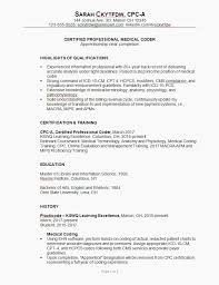 Resume Examples For Medical Billing And Coding Examples Of Resumes