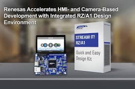 Renesas Design Renesas Electronics Accelerates Hmi And Camera Based