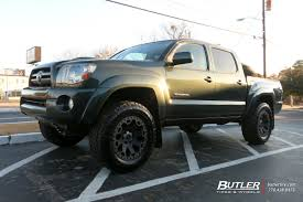 Toyota Tacoma with 18in Black Rhino Warlord Wheels exclusively ...