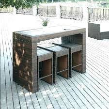 wood patio table chairs small outdoor set space remarkable furniture for spaces best furnit