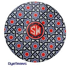 12 large round glass sublimation cutting board