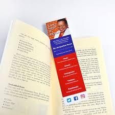 Design Bookmarks Printed Bookmarks