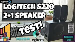 Logitech S220 2+1 Speaker İnceleme ve Test - YouTube