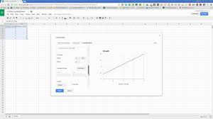 How To Create A Line Graph In Google Sheets Youtube