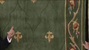 royal palace special edition fleur de lis wool rug on qvc