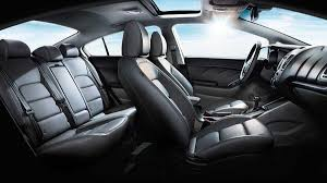 2017 kia forte interior shown with optional features