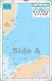 Saginaw Bay Lake Fishing Map Chart Amazon Co Uk Sports