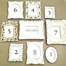 wedding table number frame table number frames table number picture frames wedding new remarkable table number