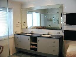 Bathroom Mirrors large Beveled Bathroom Mirrors Beveled