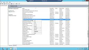 Stop Iis Internet Information Server And Stop All Sharepoint Services