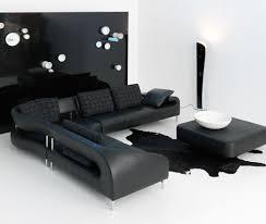 modern black furniture. while designing this contemporary black sectional sofa the furniture designer leolux modern