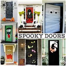halloween front door decorations15 Fun Halloween Front Doors