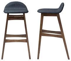 mid century modern stools. Mid Century Modern Counter Stools Walnut Stool Bloom Wood Finishing Bar Set Of