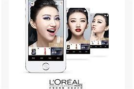 l oréal s makeup genius app