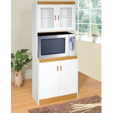 Kitchen Cabinet For Microwave Tall Kitchen Storage Cabinet Cupboard With Microwave Space