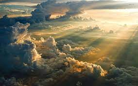 Sunset above the clouds HD wallpaper ...