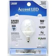 feit electric led light bulb electric accent led light bulb soft white bath vanity watts feit