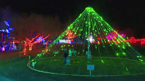 winter garden aglow kicks off another season of lights at the idaho botanical garden