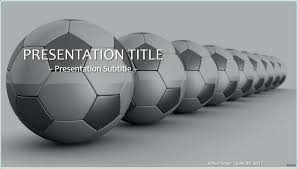 Soccer Powerpoint Template Benvickers Co