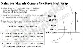 Compreflex Sizing Chart Sigvaris Compreflex Lite Transition 20 50 Mmhg Lower Leg