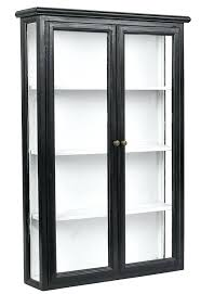 black glass cabinet distressed wood and glass wall cabinet black display cabinet glass doors