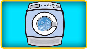 washing machine and dryer clipart. washing machine sound - white noise relaxation 2 hours and dryer clipart