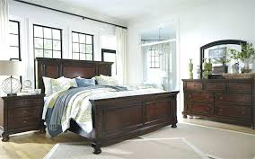 furniture bedroom sets ashley porter set canada king