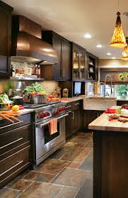 Kitchens With Cherry Cabinets Delectable 48 Classy Projects With Dark Kitchen Cabinets Home Remodeling
