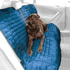 kurgo loft blue gray reversible bench seat dog car cover kurgo copilot cover full