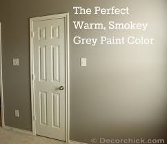 mushroom paint colorThe perfect smokey grey paint color a custom color from