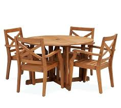 round drop leaf dining tables teak round drop leaf dining table chair set honey saved view