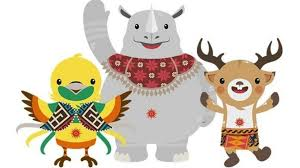 Mascot of asian games